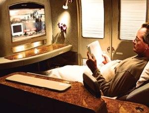 What airline travel feels like on Qantas.