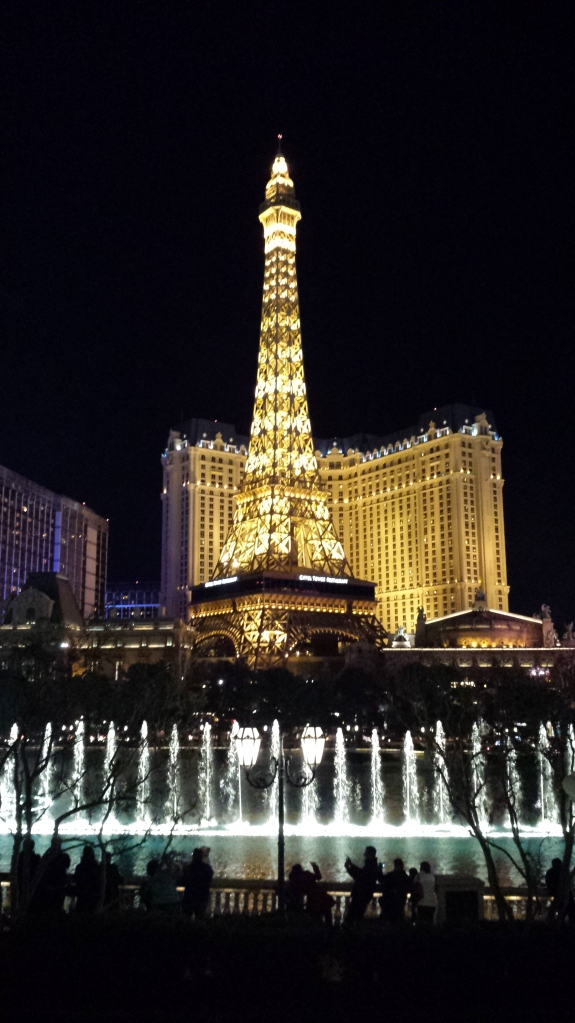 Paris, as seen from the Bellagio