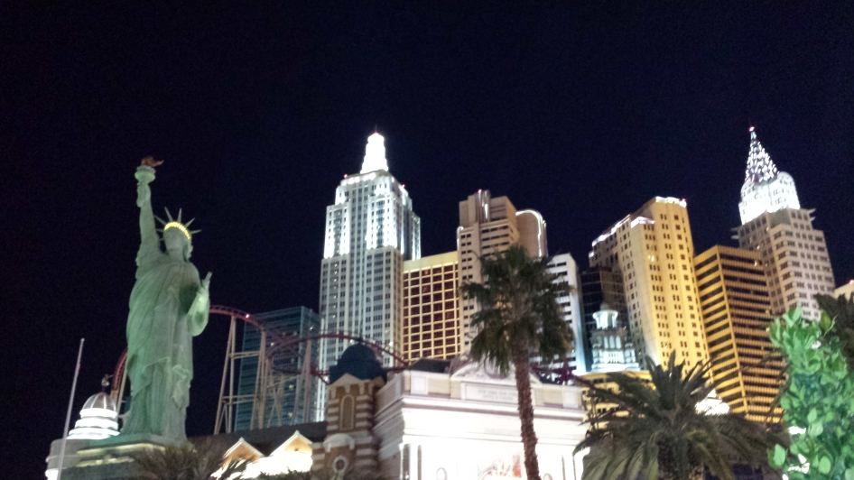 New York New York Vegas Skyline