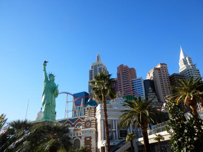 New York New York Vegas Skyline by Day