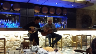 Our dinner entertainment one evening