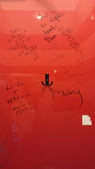 Restroom grafiti