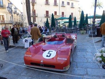 Classic Ferrari on display