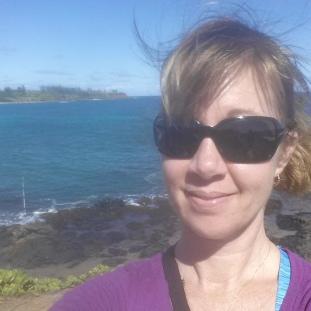 Kauai selfie