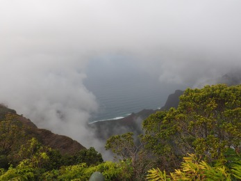 Kalalau Lookout at Wai'ale'ale