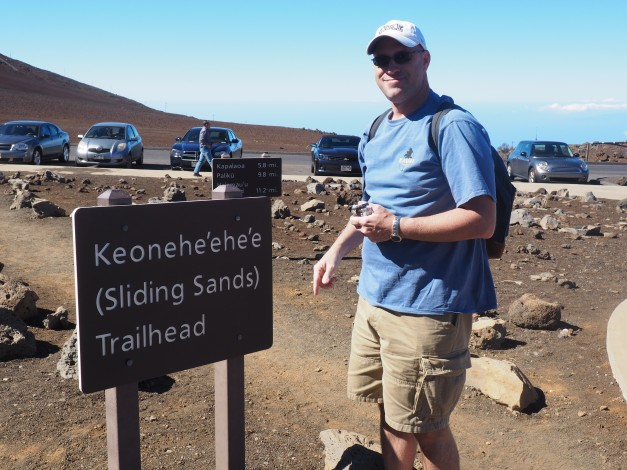 Sliding Sands trailhead