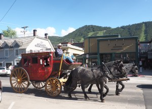 Stagecoach rides in Jackson
