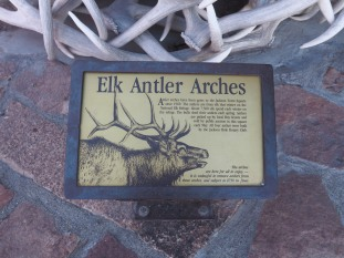 What's up with those antler arches anyway?