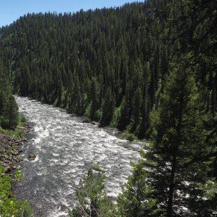 Henry's Fork river