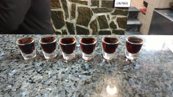 Ginja shots for everyone!