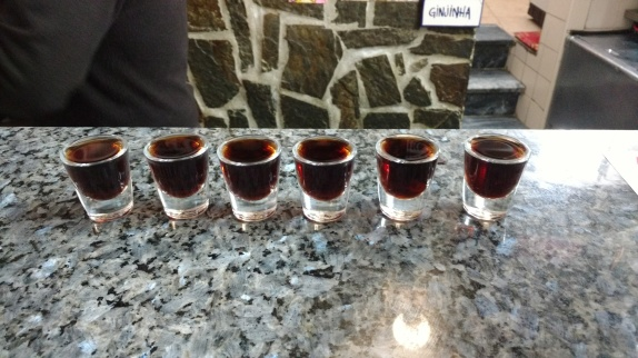 Ginja shots for everyone!