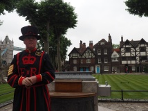 A (very friendly) Beefeater
