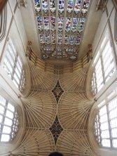 Bath abbey interior/ceiling