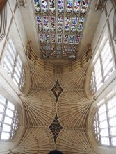 Bath abbey interior/ceiling
