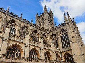 The gorgeously gothic Bath abbey