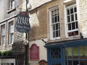 Home of Sally Lunn's famous (but slightly over-rated) buns in Bath