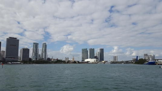 Skyline, with American Airlines Arena
