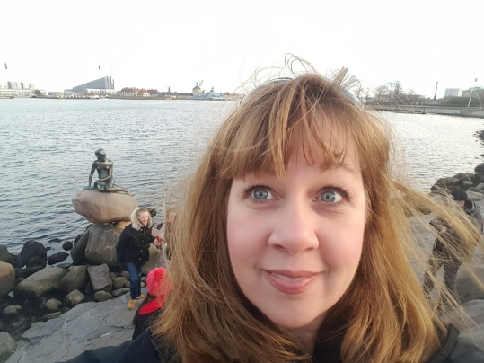 Me and the Little Mermaid sculpture