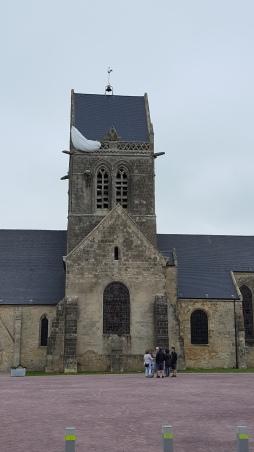 Sainte-Mère-Église paratrooper