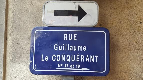 Rue Guillaume Le Conquérant, Willam the Conqueror Street Caen