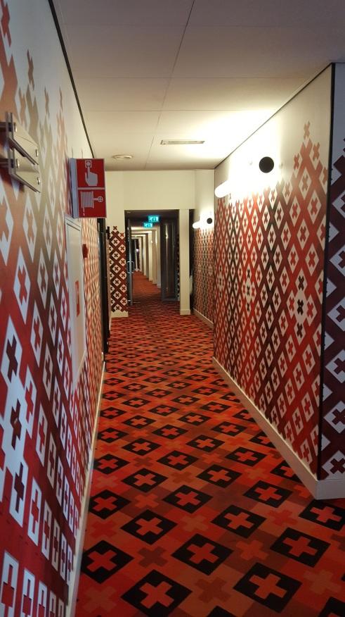 Hampshire Hotel - The Manor Amsterdam red xxx interior hall