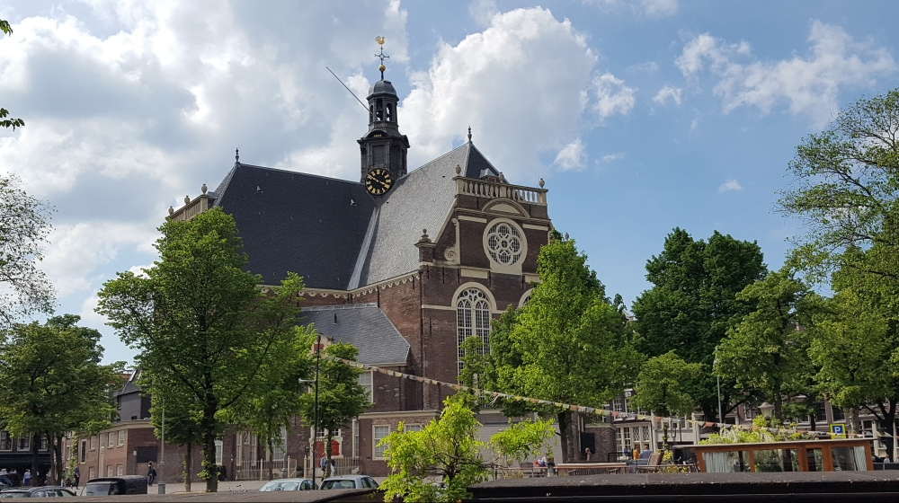 Westerkerk Church by Anne Frank House