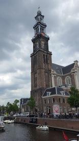 Westerkerk bell tower Amsterdam