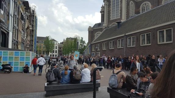 queue Anne Frank House