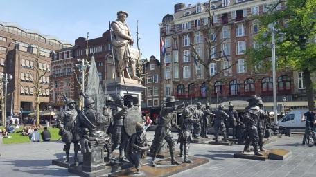 Rembrandtplein Rembrandt Square Night Watch Amsterdam