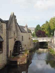 Another pretty Bayeux water wheel