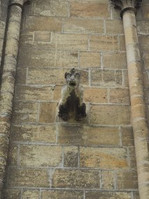 Notre-Dame Cathedral in Bayeux gargoyle