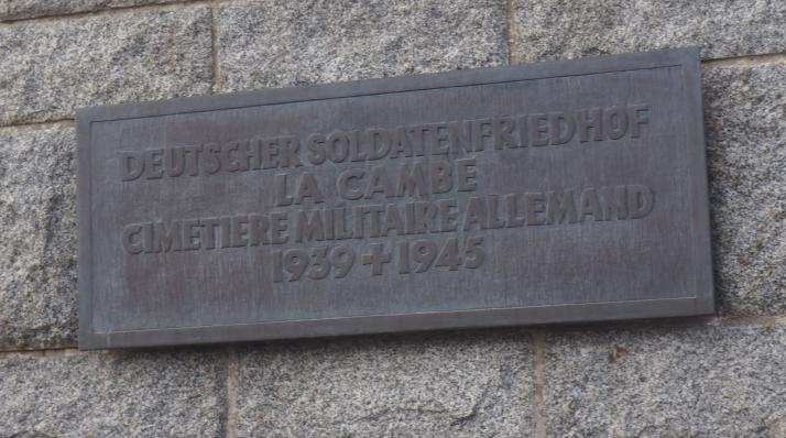 Cimetiere militaire allemand - German military cemetery world war ii