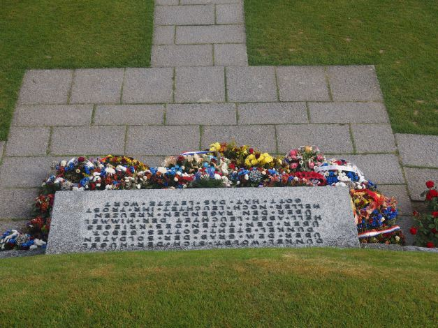 German cemetery Normandy France