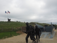 Higgens boat Utah Beach Normandy France