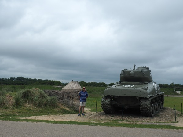 tank Utah Beach Normandy France