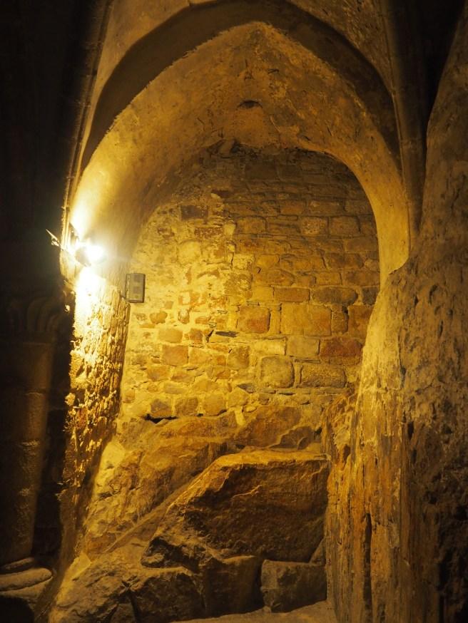 Rock at Mont St Michel
