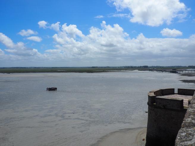 Mont St. Michel low tide