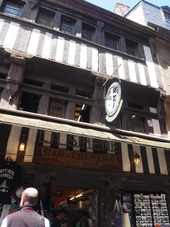 Oldest gift shop Mont St Michel