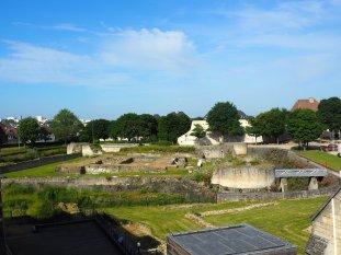 Ducal Château ruins Caen