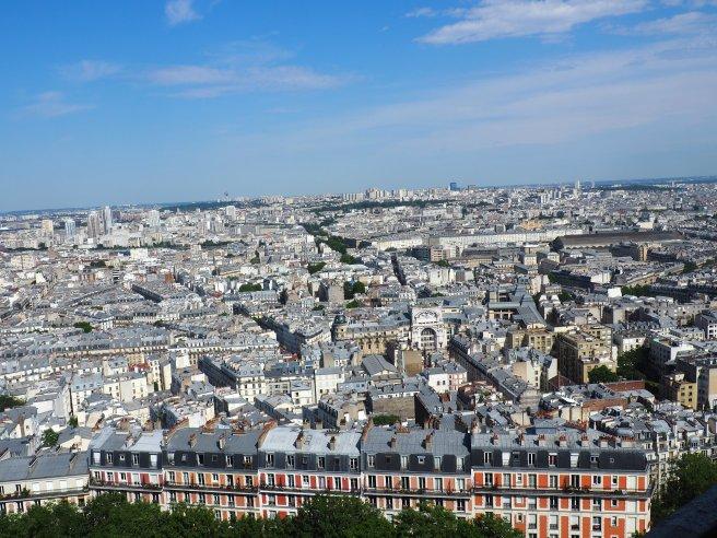 Sacré-Coeur Paris view from the dome